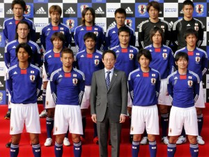 日本代表のユニフォーム